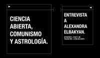 Ciencia abierta, comunismo y astrología: Entrevista a Alexandra Elbakyan