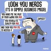 El acceso abierto no es un modelo de negocio, es nuestro derecho a acceder a la literatura científica