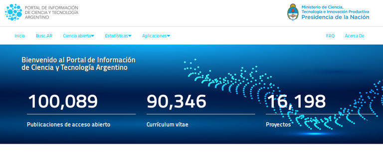 Portada Ciencia Abierta Argentina