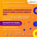 Concurso Latinoamericano de Ensayo sobre Acceso Abierto 2020