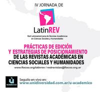 IV Jornada de LatinREV-FLACSO Argentina