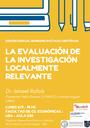 La evaluación de la investigación localmente relevante